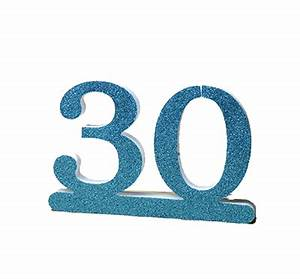 Number 30 For 30th Birthday Two Colors At Factory Prices