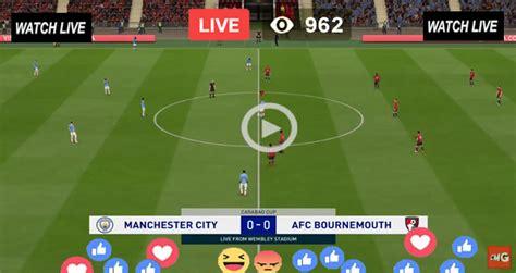 Live Football – Manchester City vs Bournemouth – Live ...