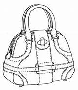 Bag Sketch Drawing Handbags Sketches Bags Drawings Handbag Illustration Designer Leather Alexander Flat Shoe Mcqueen Disegno Outlines Shoes Borsa Explore sketch template