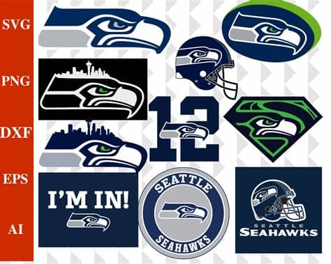 A simple animation with seahawks logo. Seattle Seahawks Seattle Seahawks svg Seattle Seahawks | Etsy