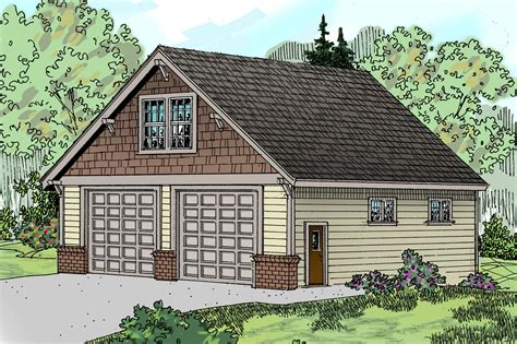 Design Garage Garagen Als Schmuckstuecke by Craftsman House Plans Garage W Living 20 046