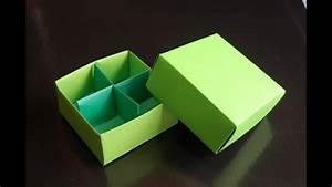 Origami Box  Traditional    Box Divider