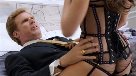 Alison Brie Sexy Lingerie Scene From Get Hard Scandal