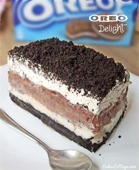 oreo delight with chocolate pudding eat more chocolate eat more chocolate