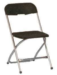chairs folding black chrome rentals oakland ca where to