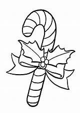 Candy Cane Coloring Christmas Pages Printable Disegni Natale Drawing Drawings Clipart Line 4kids Colorare Da Decorations Xmas Di Tree Clipartmag sketch template