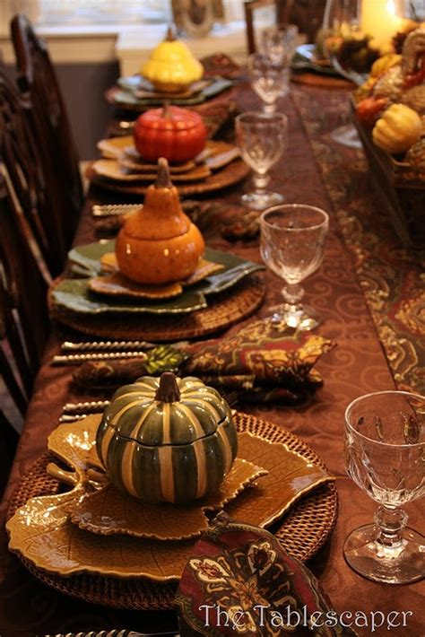 thanksgiving table setting creative juices decor rustic thanksgiving table settings