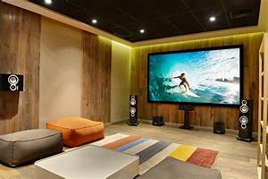 Image Gallery home theater room
