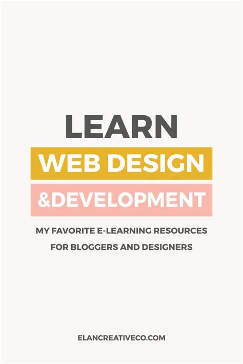 learn web design learn web design and development elan creative co