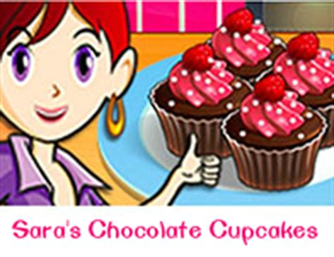 chocolate cupcakes saras cooking class cooking games