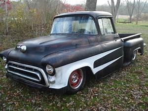 1957 Chevy Swb Big Back Window Slammed Ratrod Shop Other
