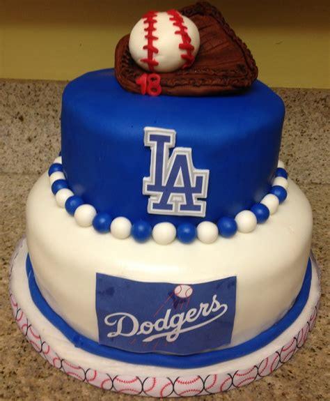 dodgers cake ideas  pinterest cap cake
