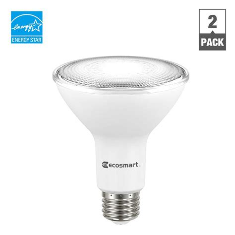 ecosmart 75w equivalent daylight par30 dimmable led flood