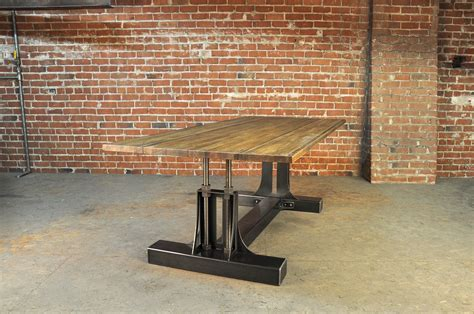 Post Industrial Dining Table ? Model #PO6   Vintage