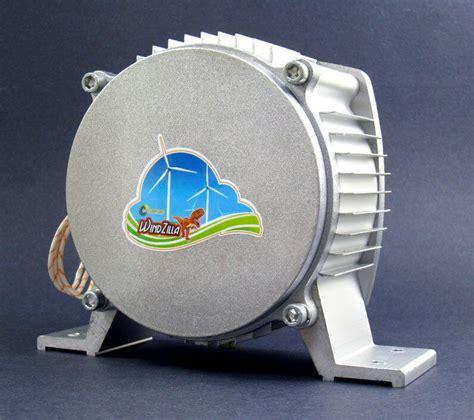 windzilla max    dc permanent magnet generator wind turbine motor pma ebay