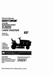 Craftsman 917270623 User Manual Electric Start 42