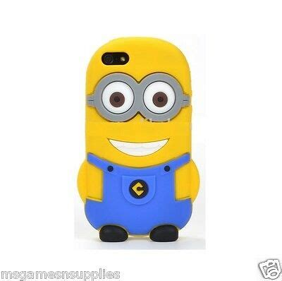 despicable me ii minion 2 gray silicone gel 3d for iphone 6 6plus 5 5 ebay