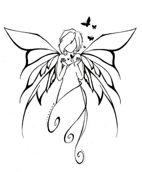 Tatouage Elfe Papillon