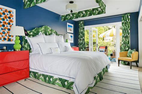 Brand New: Poolside Mediterranean Tropical bedrooms