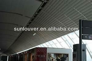 Custom Aluminum Louver Aluminium Sunshade Louvre Awning