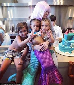 North West and Penelope Disick have birthday party as ...