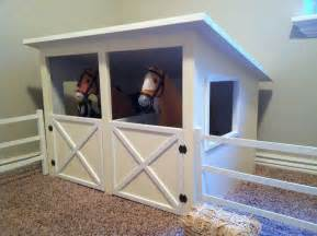 doll horse stable  fence plans  american girl