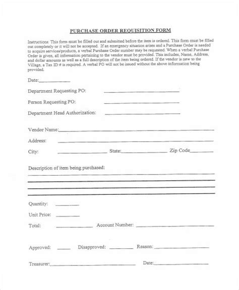requisition forms   ms word