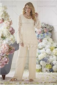 Cream Pant Suit For Women