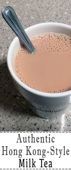 hong kong milk tea recipe best hong kong style milk tea recipe on pinterest