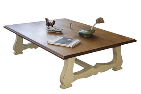 country style table ls vintage cottage coffee table chalkware paint french