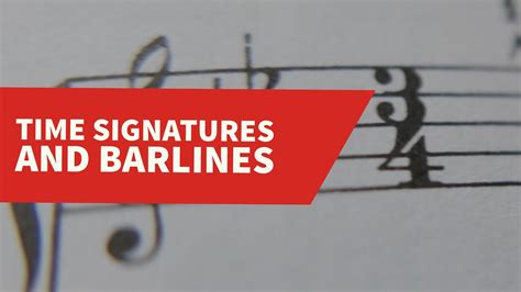 Double bar lines define sections.you will want to have a ruler or straight edge handy. Time Signatures and Barlines (Music Theory Lesson 6) - YouTube