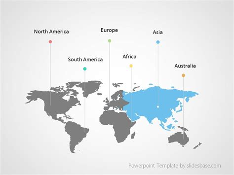 powerpoint map templates world map infographic powerpoint template slidesbase
