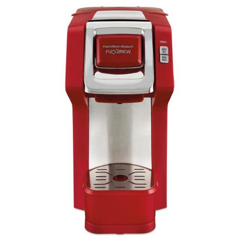 Stir the mixture with a plastic spoon to make it fairly uniform. Hamilton Beach 1-Cup Red FlexBrew Coffee Maker-49945 - The ...