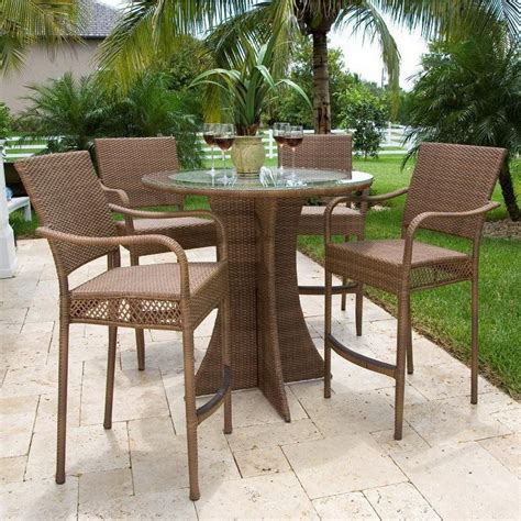 tall patio table set furniture diy patio and porch decor ideas diy joy tall