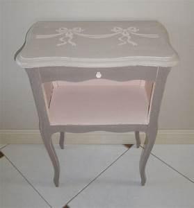 Table De Chevet Soldes : table chevet rose ~ Teatrodelosmanantiales.com Idées de Décoration