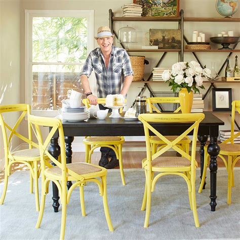 colorful kitchen chairs 25 dining areas with yellow dining chairs home design lover 2342