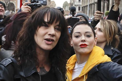Rose McGowan defends Asia Argento after Anthony Bourdain's ...