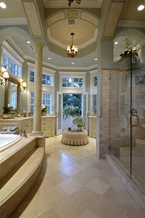master bathroom shower horton manor luxury home plan 071s 0001 house plans and more Luxury