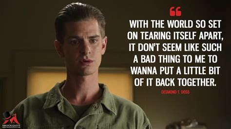 Find more movies that help kids build character. Pin by Macki Page on Hacksaw Ridge | Hacksaw ridge quotes ...