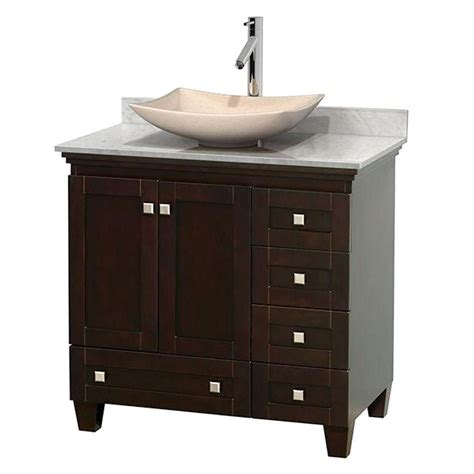 wyndham collection acclaim 36 inch w vanity in espresso