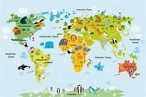 Weltkarte Kontinente Kinder : magnettafel pinnwand memoboard motiv kinderzimmer weltkarte f r kinder ebay ~ A.2002-acura-tl-radio.info Haus und Dekorationen
