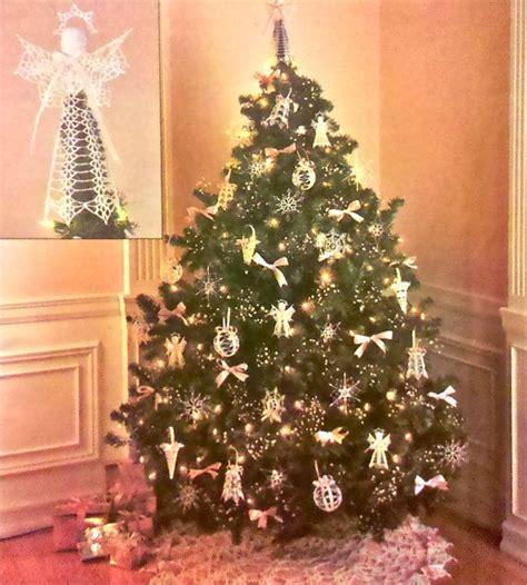 crochet christmas ornament pattern holiday ornaments