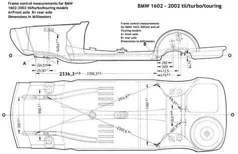 1974 Bmw 2002 Engine Diagram by Frame Measurement And Interior Bmw 2002 Faq