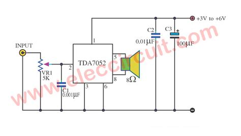 Tda Amplifier Low Voltage Btl Amp