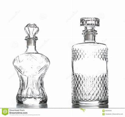 Decanter Liquor Crystal Isolated Glass