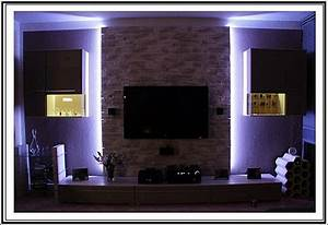 Wand Mit Indirekter Beleuchtung : set indirekte led beleuchtung plasma lcd fernseher fernsehschrank fernsehwand ebay ~ Sanjose-hotels-ca.com Haus und Dekorationen