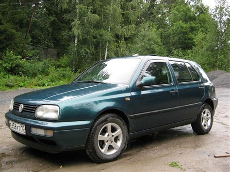 1997 Vw Gulf by Used 1997 Volkswagen Golf Photos 1400cc Gasoline Ff