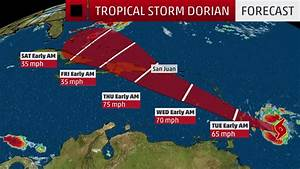 Tracking Tropical Storm Dorian: Watches and Warnings ...