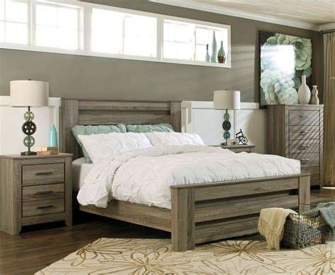 Rustic Gray Bedroom Sets by Juararo Bedroom Furniture Zelen Rustic Grey Bed