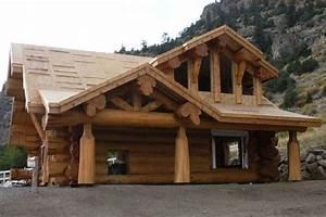Maison Rondin Bois : chalet en fuste chalet en rondin chalet en bois maison en ~ Melissatoandfro.com Idées de Décoration